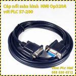 Cap noi HMI OP320-A voi PLC S7-200 A1