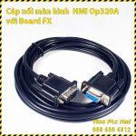 Cap noi HMI OP320-A voi board PLC FX A1