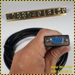 Cap noi HMI OP320-A voi board PLC FX A3